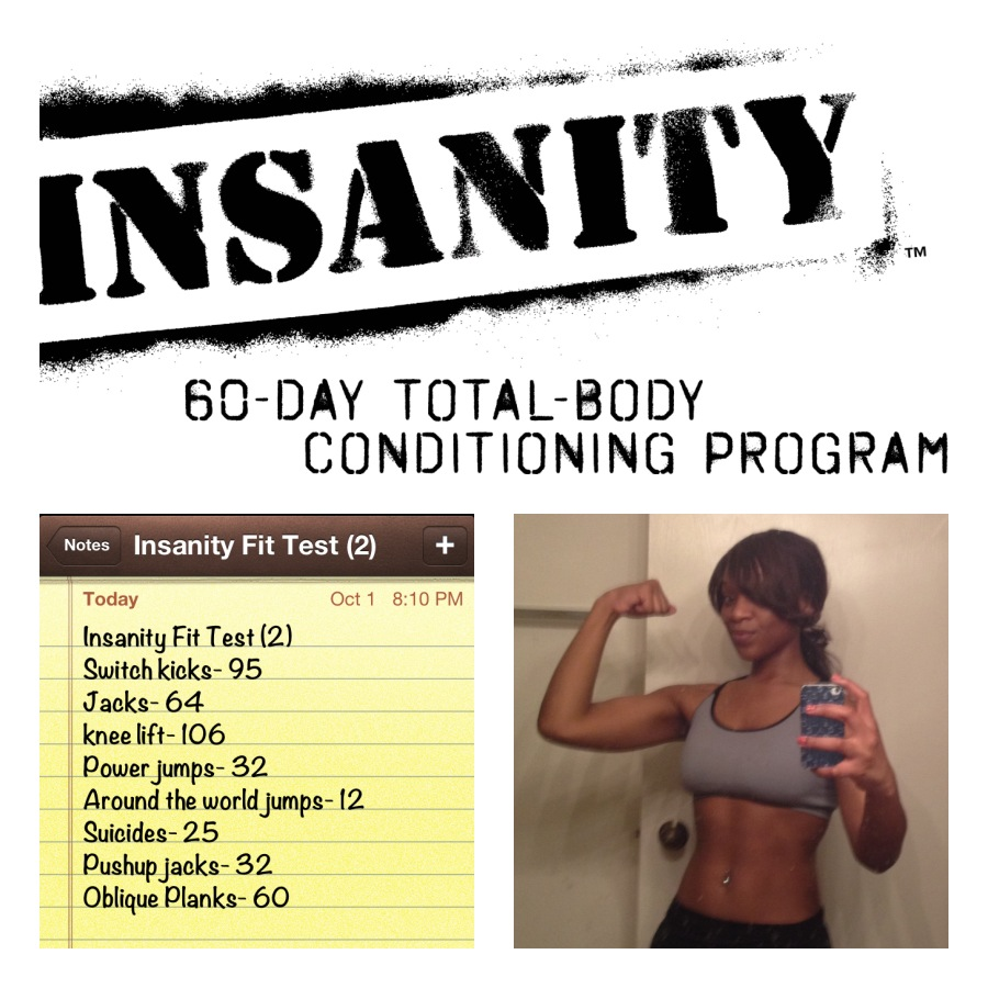 I Started The Insanity 60 Day Total Body Conditioning