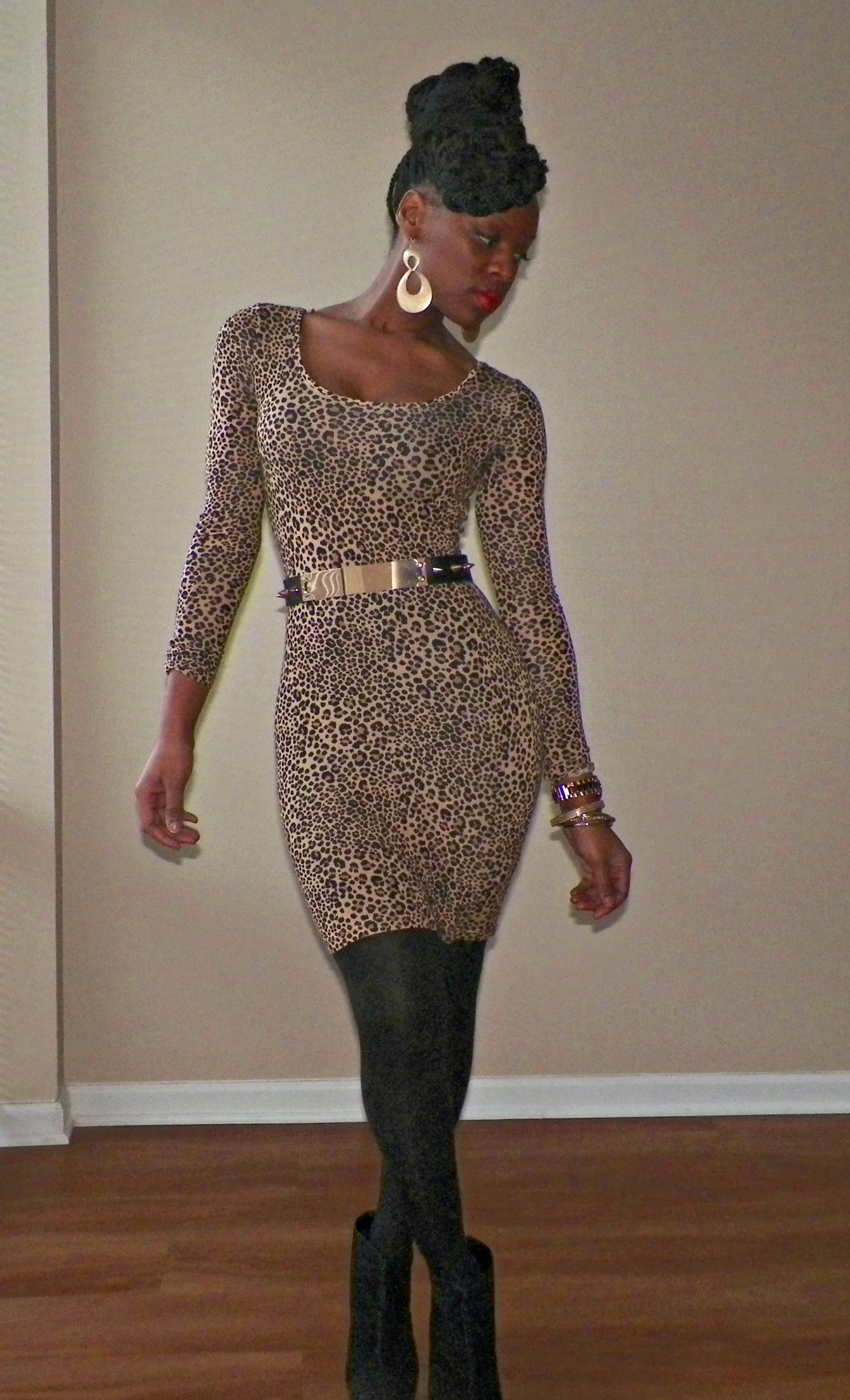 Dresses With Leopard Print Shoes