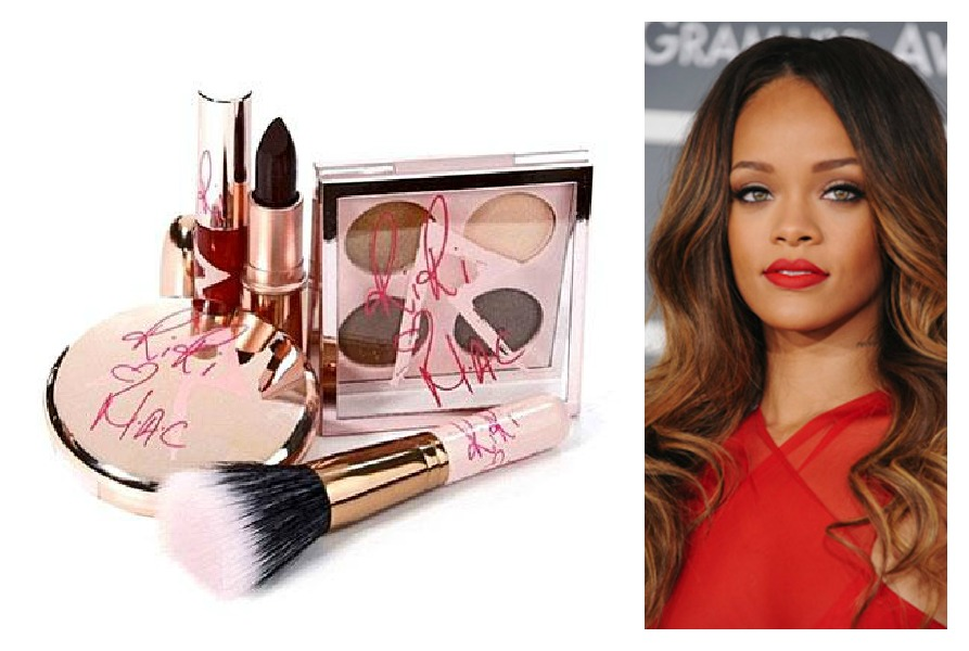 Rihanna mac cosmetics makeup launch announcement 25th birthday beauty