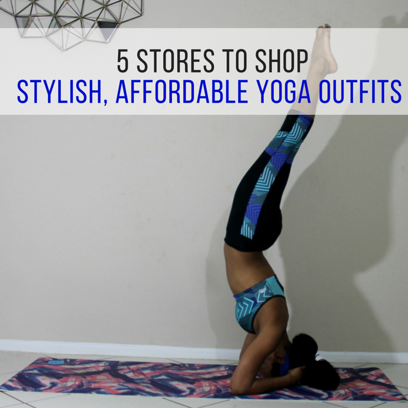 5 Stores To Shop Stylish Affordable Yoga Outfits Beauty