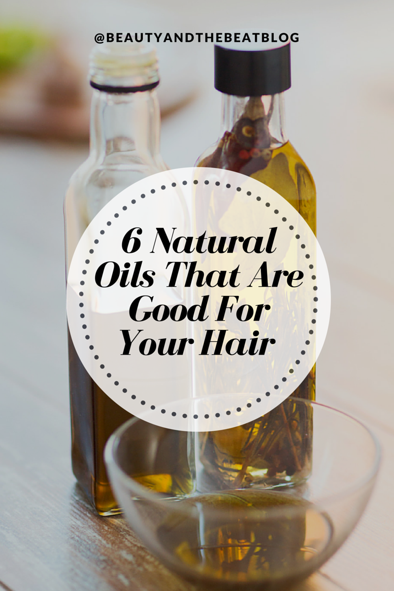 6 Natural Oils That Are Good For Your Hair