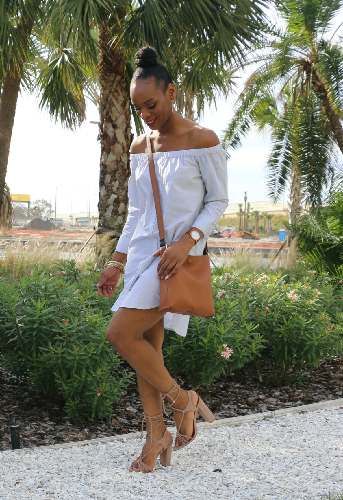 fashion-mimi-chica-fashion-dress-tj-maxx-steve-madden-sandals-beige-heels-rosetti-crossbody-reversible-bag-ootd-spring-fashion-original-grain-watch-beauty-and-the-beat-blog