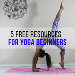 5 Free Yoga Resources for Beginners!